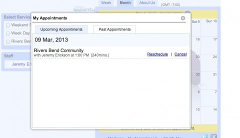 Appointments Management Tutorial