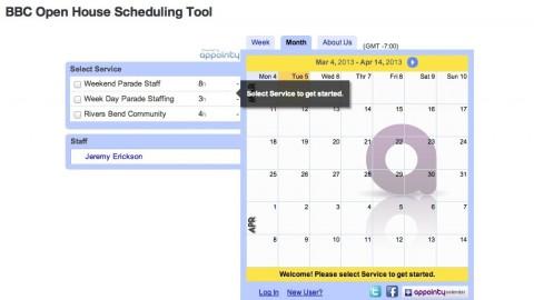 Open House Schedule Tutorial