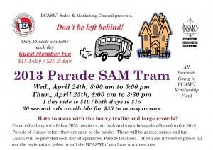 SAM Tram Flyer